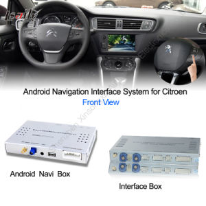 Car Android Navigation Interface Box for Citroen C4, C5, Upgrade HD Video, Googl Map pictures & photos