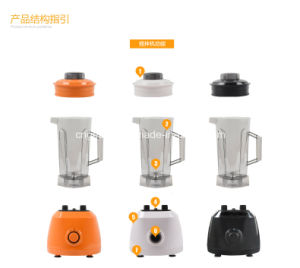 Household 1000W 2L Unbreakable PC Jar Super Blender (K811) pictures & photos