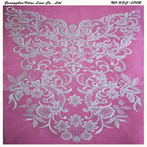 Ivory Lace Appliques for Evening Dress Vfc-070b