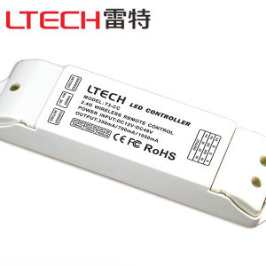 T3-Cc Receiving Controller (current 3 in 1) ; DC12-48V Input; Cc 350/700/1050mA*3CH; Work with T1/T2/T2/T3/T3/T3X Remote Control