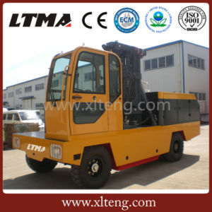 Chinese Forklift Truck 10t Side Loader Forklift Truck pictures & photos