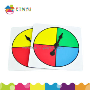 Math Classroom Materials - Plastic Spinner pictures & photos