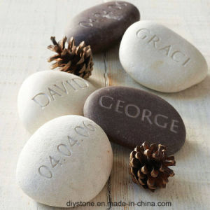 Natural Carving Pebble Stones pictures & photos