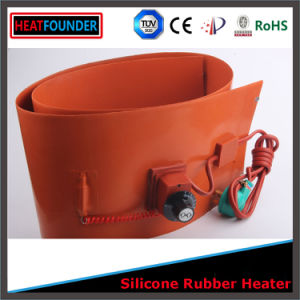 200c 110V 120*200*1.5mm Silicone Rubber Water Heater pictures & photos