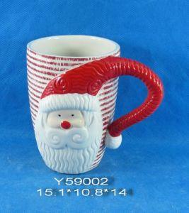 Ceramic Santa Mug for Christmas Decoration pictures & photos