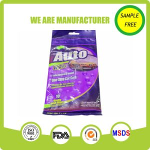 High Quality Soft Car Car Cleaning Car Wet Wipes pictures & photos