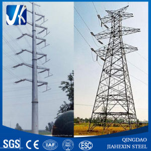 Galvanized Transmission Pole Steel Tower pictures & photos