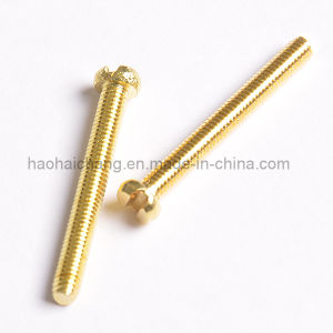 OEM Cross Head Self Drilling Brass Screw pictures & photos