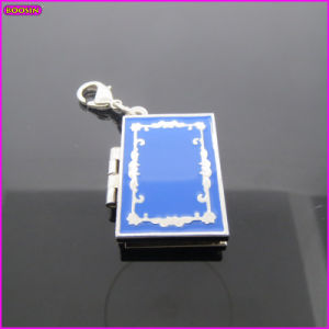 European Classical Blue Magic Book Metal 3D Charm (17226) pictures & photos