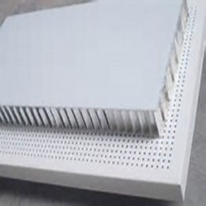 Flat Size Perforated Aluminum Honeycomb Panel for Indoors/Outdoors Use pictures & photos