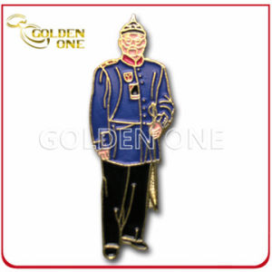 Personalized Colorful Soft Enamel Figure Metal Pin pictures & photos