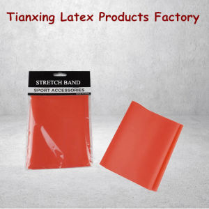 2016 Tianxing Factory Stretch Resistance Exercise Bands pictures & photos