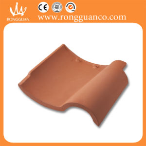 Roofing Material Clay Roof Tile Red Color Roof Tile (W84) pictures & photos