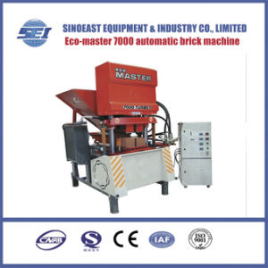 Eco 7000 Full Automatic Concrete Roof Tile Machine Cement Soil Brick Block Making Machine Price pictures & photos