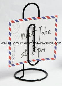2015 New Wire Metal Memo Photo Clip Holder pictures & photos