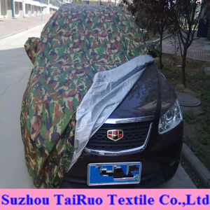 Printed Logo Car Cover of 100% Polyester Taffeta Fabric pictures & photos