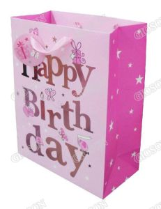 Birthday Gift Bag/ Paper Packing Bag Printing pictures & photos