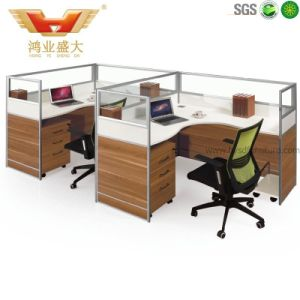 High Quality Hot Sale Melamine Office Workstation for Staff (HY-P11)