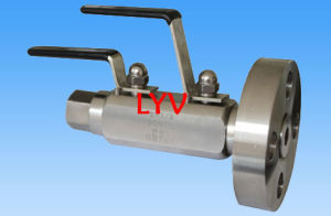 Double Block Double Bleed Ball Valve pictures & photos