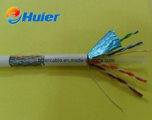 Fluke Pass 4 Twisted Pair Foil Shielded FTP CAT6 LAN Cable (Outdoor) pictures & photos