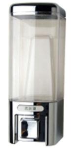 Elegant 480ml Silver Plastic Liquid Hotel Soap Dispenser pictures & photos