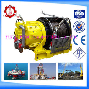 10 Ton Heavy Duty Offshore Mooring Air Powered Tugger Winch Air Winch for Drilling Rigs pictures & photos