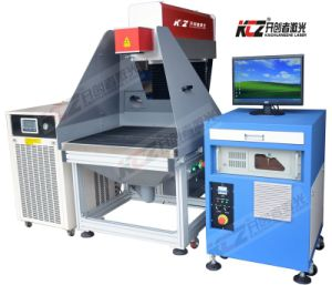 280W Laser Marking Machine Working on Leather/Paper