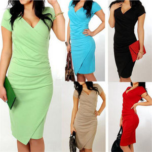 2015 Western Style Elegant Slim Fitting Fashion Lady Office Dress pictures & photos