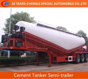 3 Axles 35cbm Cement Tanker Semi-Trailer pictures & photos