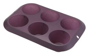 Silicone 6 Cup Deep Muffin Pan & Cake Mould &Bakeware FDA/LFGB (SY1315) pictures & photos
