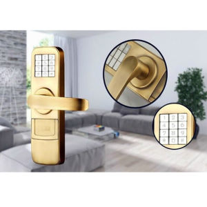 High Quality Keypad Lock Unlocked by Password or Key Used in Villa or Office pictures & photos