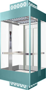 Safety Guarantee Panoramic Elevator, High Quality Sightseeing Elevator
