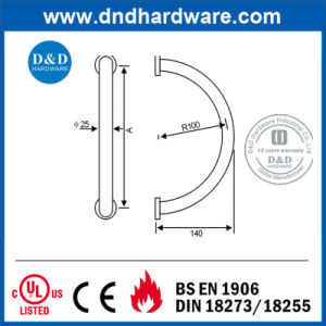 Round Ss304 Pull Handle for Glass Door pictures & photos