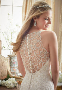 2016 New Hot-Selling Beaded Bride Wedding Dress, Customized pictures & photos