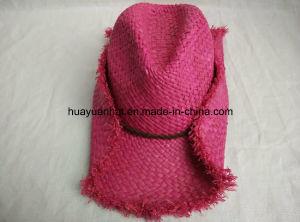 100% Raffia Straw Cowboy Hat pictures & photos