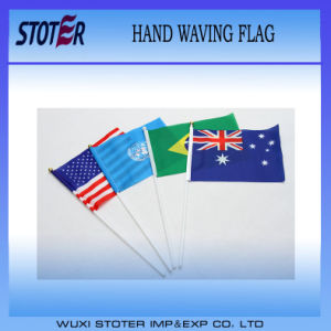 Cheap Stick Flags/Hand Held Stick Flag Promotion/Hand Held Flags pictures & photos