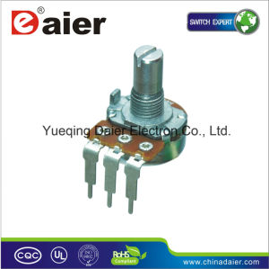 Adjustment Single B50k Guitar Potentiometer with 15mm Shaft pictures & photos