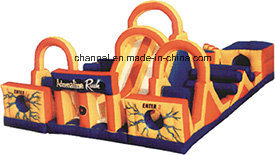 Adreneline Rush Inflatable Obstacle Course for Playground pictures & photos