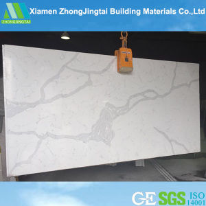 Calacatta Slab Factory Quartz Stone Artificial Quartz Stone pictures & photos