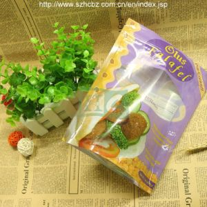 FDA Printed Stand up Plastic Foil Snack Bag (L) pictures & photos