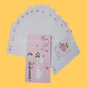 Customized Wedding Poker Sweet Playing Cards Romantic Gift for Couples pictures & photos
