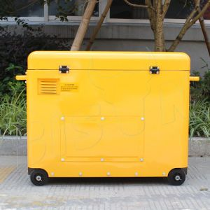 Bison (China) BS6500dsec 5kw 5kVA 5000W Copper Wire Power Supply Silent Diesel Generator Portable for Best Sale pictures & photos