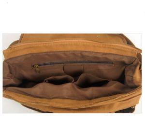 Heavy Canvas Messenger Man Bag Washed Fabric Canvas Shoulder Bag (RS-2111) pictures & photos