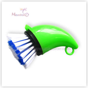 Wholesale Cleaning Tool Horn-Shaped Pot/Pan Cleaning Brush pictures & photos