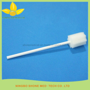 Disposable Medical Colorful Cleaning Sponge Stick pictures & photos