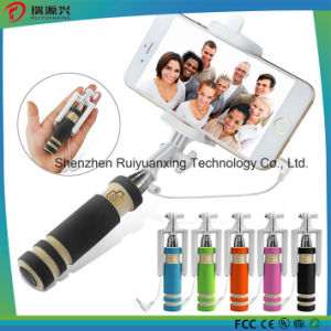 2016 Factory Price Wired Selfie Stick Selfie Monopod (st-01) pictures & photos