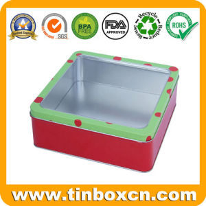 Square Gift Tin Container for Promotion, Metal Tin Box pictures & photos