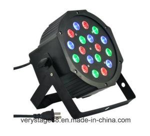 Stage Lighting DMX512 18X3w RGB LED PAR Light pictures & photos