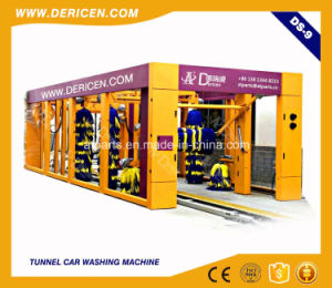 Dericen Ds9 Automatic Car Tunnel Washing Machine for Sale pictures & photos