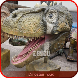 Indoor Playground Decoration Wall Hanging Dinosaur Head pictures & photos